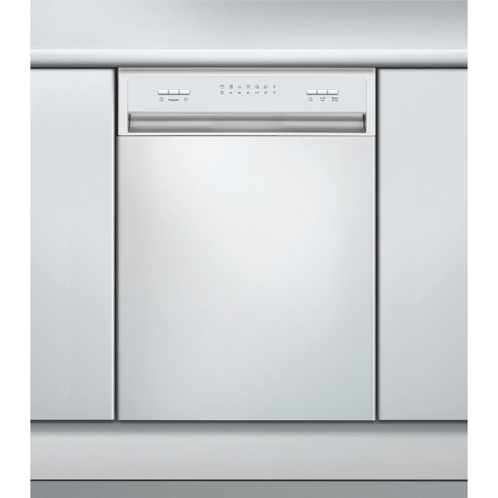 Whirlpool diskmaskin: färg vit, 45 cm - ADPU 1004 WH