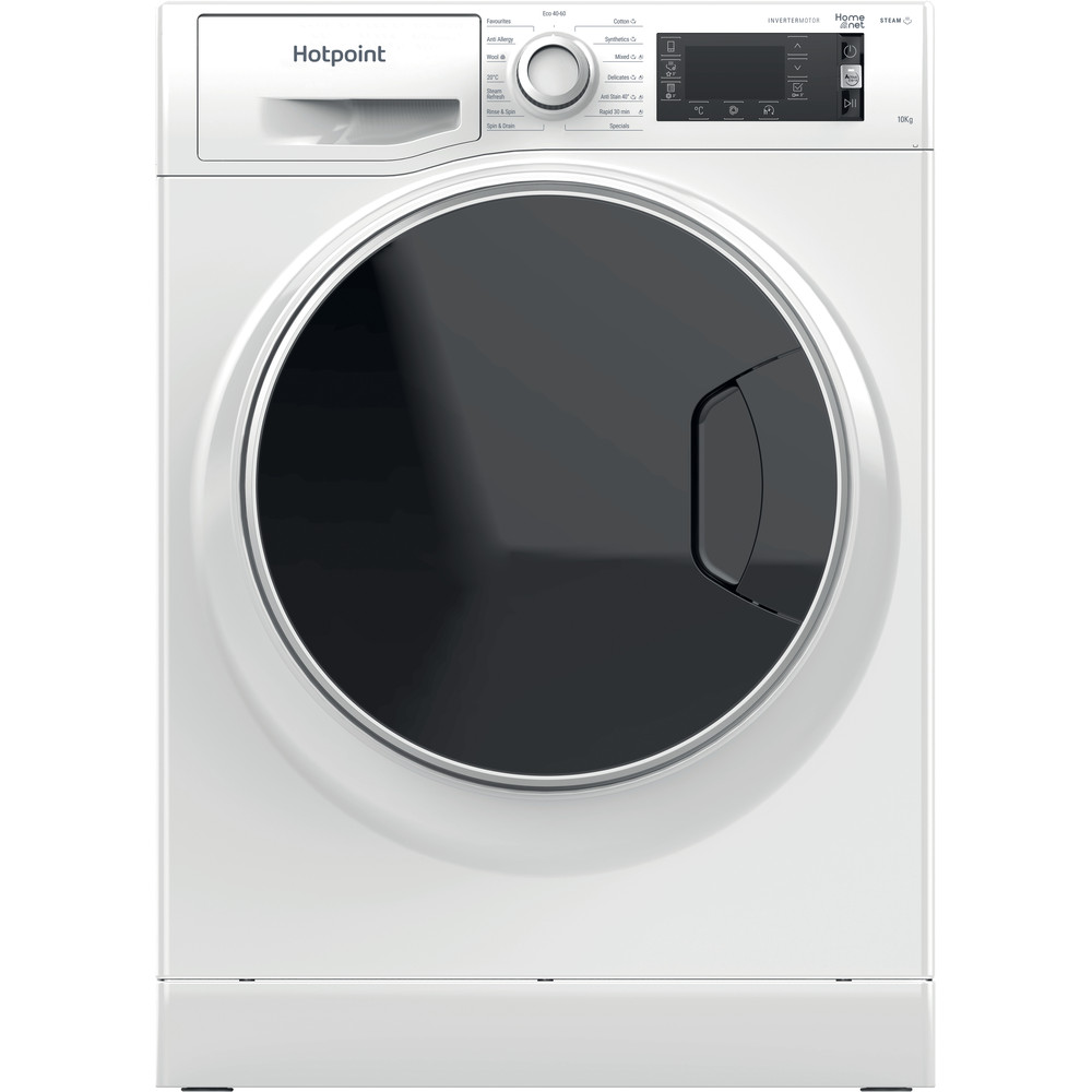 Hotpoint Washing machine Free-standing NLLCD 1044 WD AW UK N White Front loader B Frontal