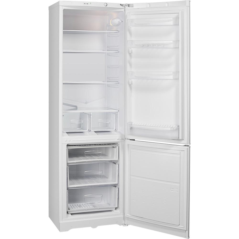 Indesit Холодильник с морозильной камерой Отдельно стоящий IBS 18 AA (UA) Белый 2 doors Perspective open
