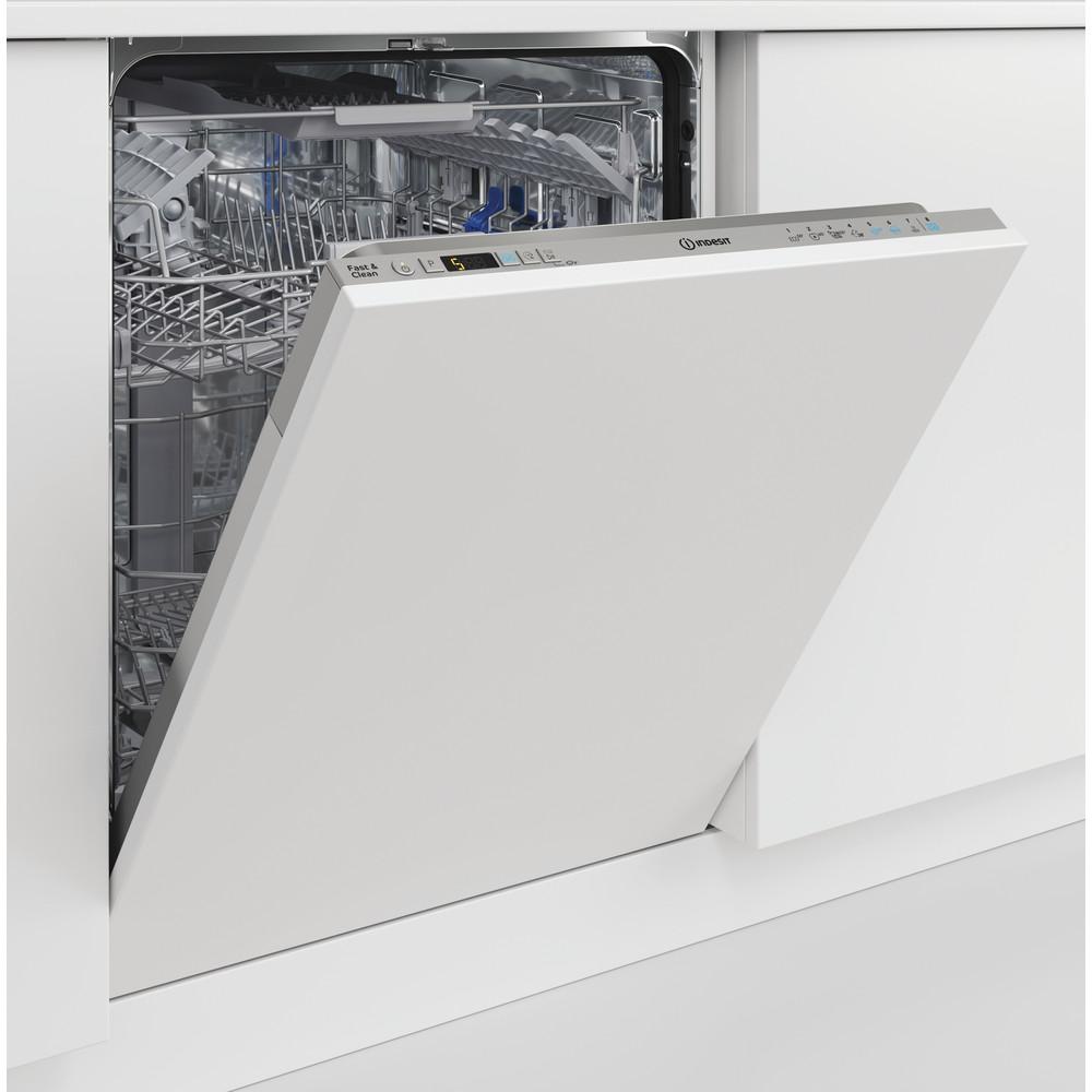 Indesit Lave-vaisselle Encastrable DIC 3C24 AC S Tout intégrable E Lifestyle perspective open