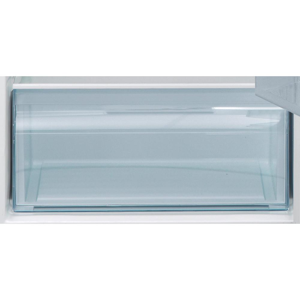 Indesit Külmik-sügavkülmik Eraldiseisev I55TM 4110 W 1 Valge 2 doors Drawer