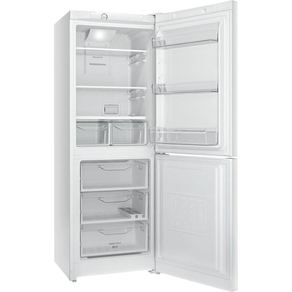 Indesit Холодильник с морозильной камерой Отдельностоящий DF 4160 W Белый 2 doors Perspective open