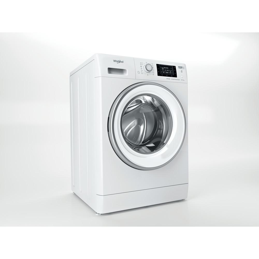 Whirlpool fristående tvätt-tork: 10 kg - FWDD 1071682 WSV EU N