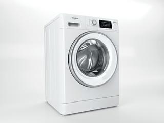 Vapaasti sijoitettava kuivaava Whirlpool pyykinpesukone: 10 kg - FWDD 1071682 WSV EU N