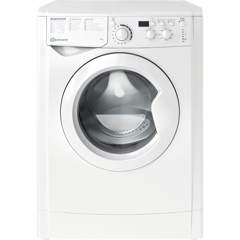 Bauknecht Waschmaschine Standgerät WM MT 7 IV N Weiss Frontlader E Frontal