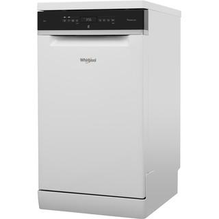Посудомийна машина Whirlpool: білий колір, вузька - WSFO 3O23 PF