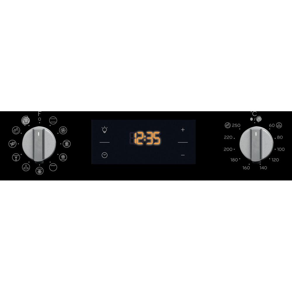 Indesit Oven Ingebouwd IFW 4844 H BL Elektrisch A+ Control panel