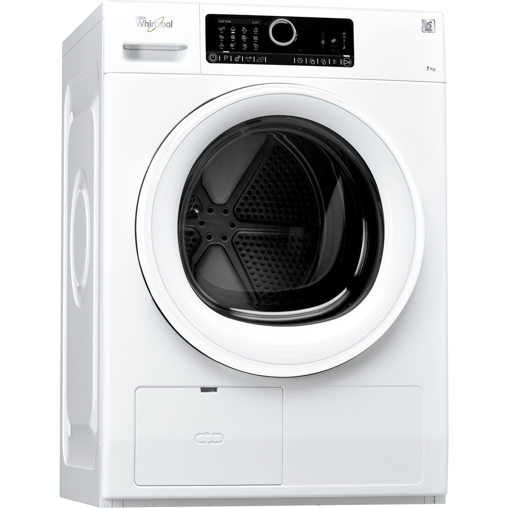 Whirlpool värmepumpstumlare: fristående, 7 kg - HSCX 70311