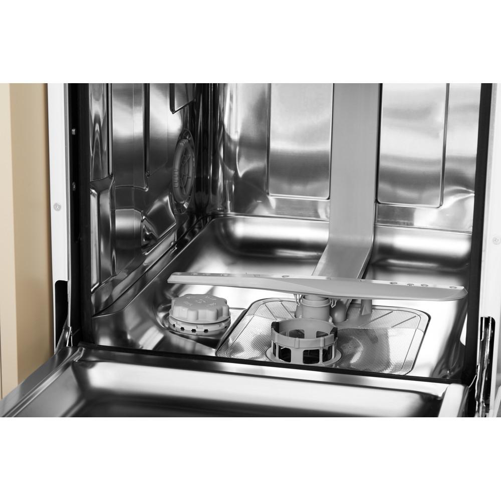 Indesit Посудомоечная машина Отдельностоящий DSCFE 1B10 RU Отдельностоящий A Cavity