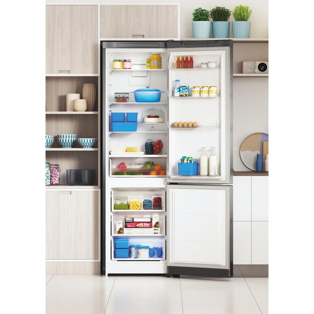 Indesit Холодильник с морозильной камерой Отдельностоящий ITS 5180 X Inox 2 doors Lifestyle frontal open