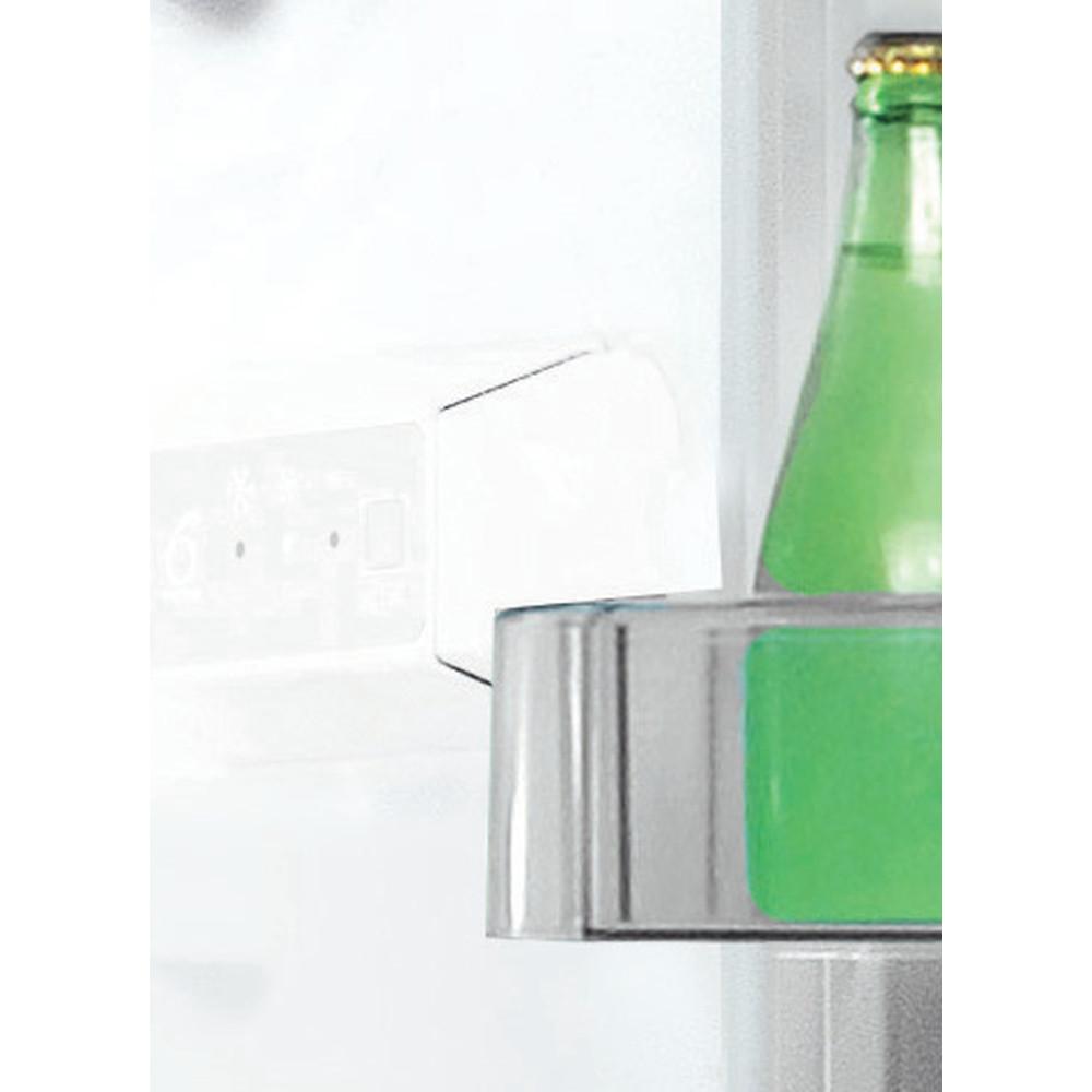 Indesit Комбиниран хладилник с камера Свободностоящи LI7 S1 W Бял 2 врати Control panel