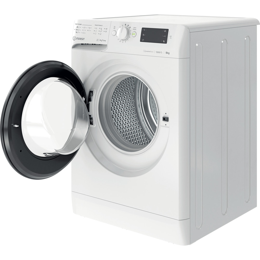 Indesit Пральна машина Соло OMTWE 81283 WK EU Білий Front loader A+++ Perspective open