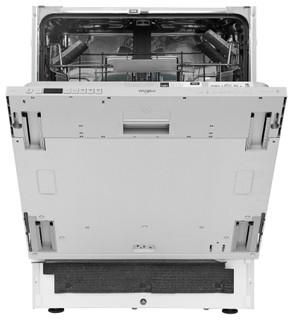 Integreret Whirlpool-opvaskemaskine: sølvfarve, fuld størrelse - WIC 3C24 PS E