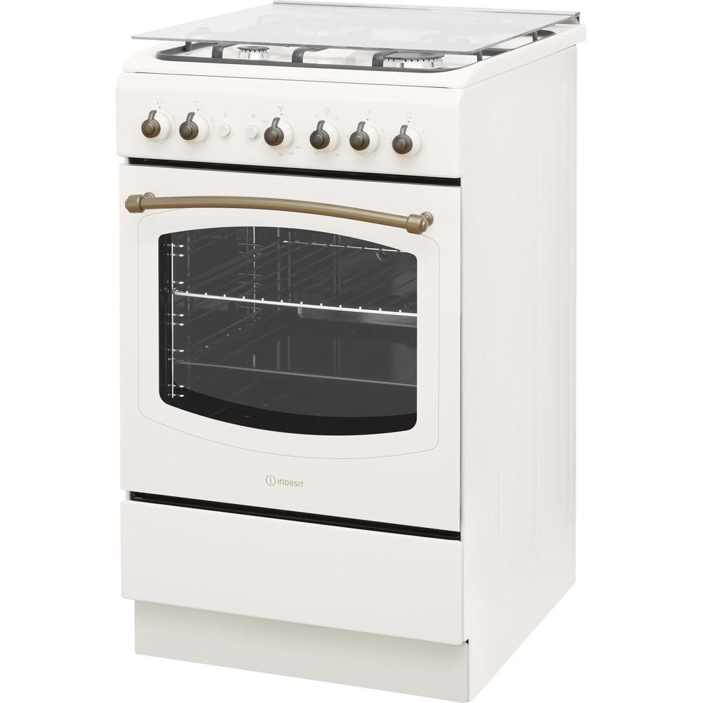 Indesit Cucina con forno a doppia cavità IS5G1MMJ/E Jasmine GAS Perspective