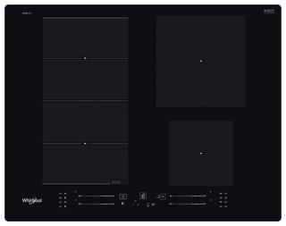 Whirlpool indukcijska steklokeramična kuhalna plošča - WF S2765 NE/IXL