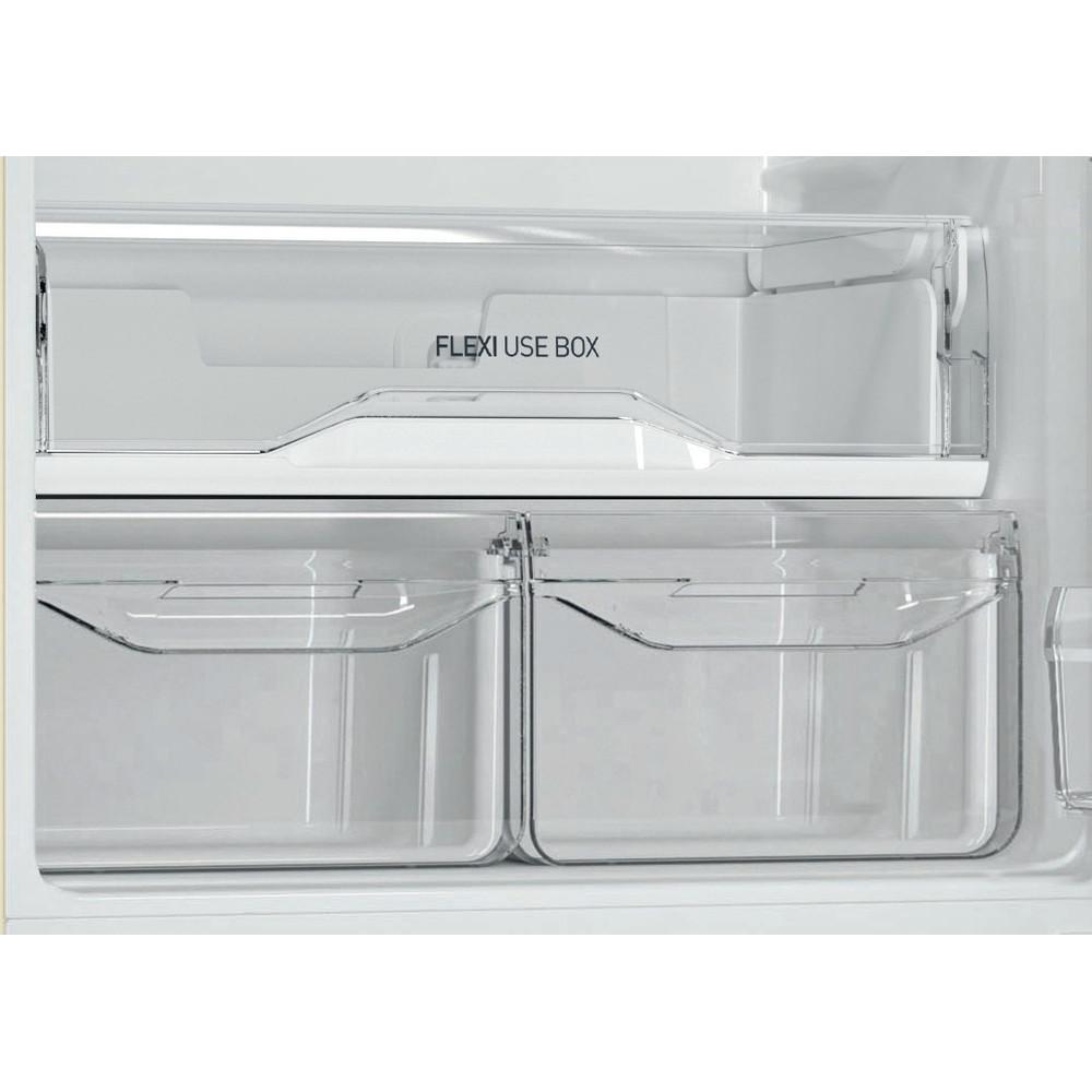 Indesit Холодильник с морозильной камерой Отдельностоящий DS 4200 E Розово-белый 2 doors Drawer