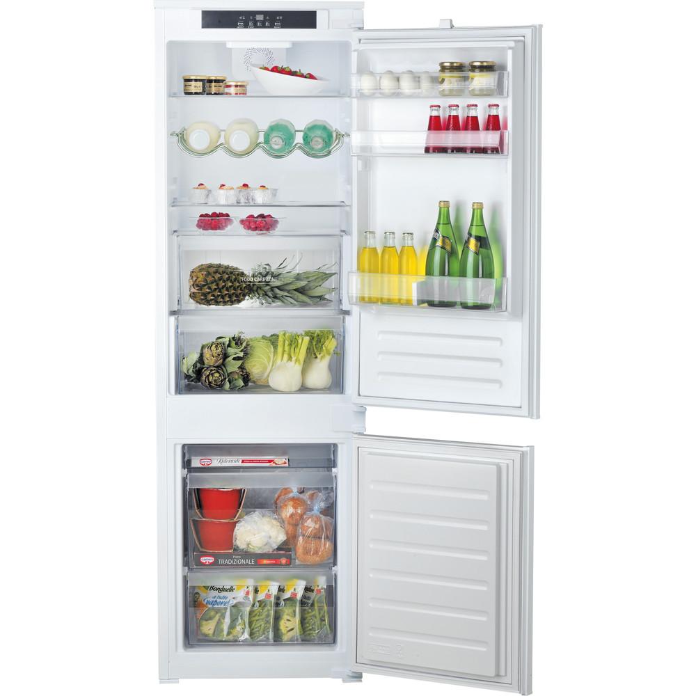 Hotpoint_Ariston Комбинированные холодильники Встраиваемая BCB 7030 E C AA O3(RU) Сталь 2 doors Frontal open
