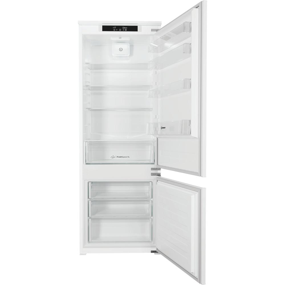 Indesit Combinazione Frigorifero/Congelatore Da incasso IND 400 Bianco 2 porte Frontal open