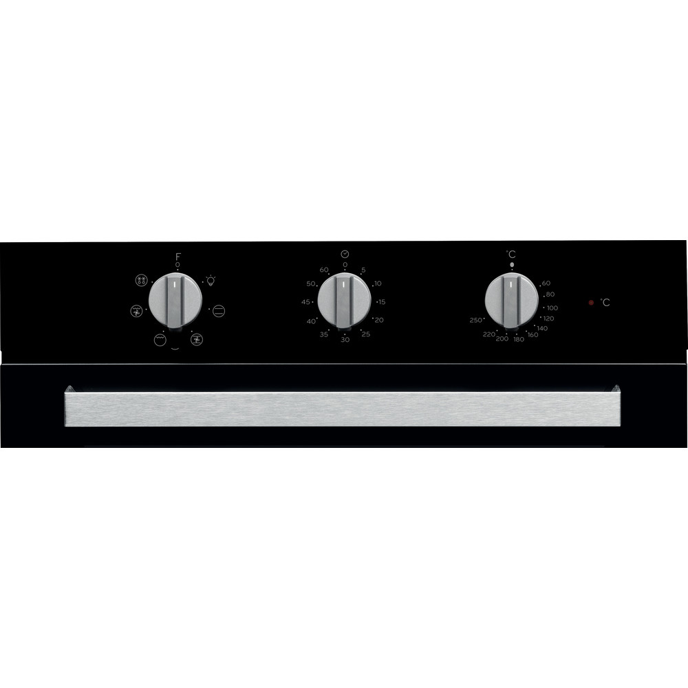 Indesit Духові шафи Вбудований (-а) IFW 6530 BL Електрична A Control panel