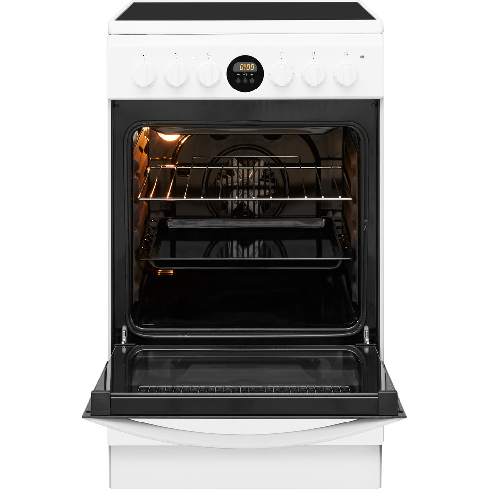 Indesit Плита IS5V8CCW/E Белый Electrical Frontal_Open