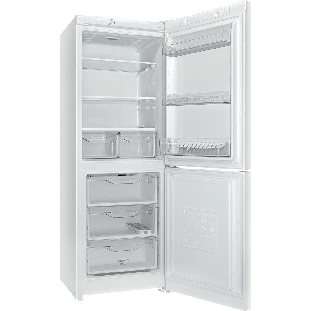 Indesit Холодильник с морозильной камерой Отдельно стоящий DS 3161 W (UA) Белый 2 doors Perspective open
