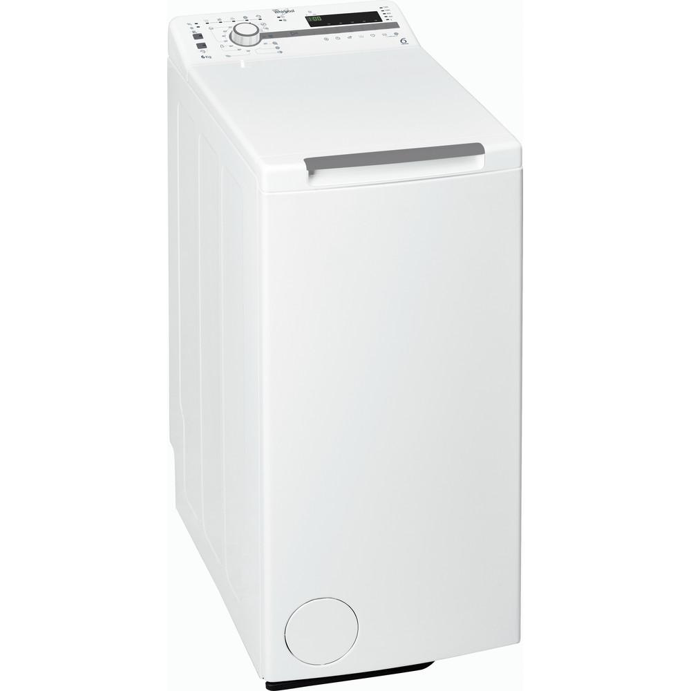 Whirlpool toppmatad tvättmaskin: 6 kg - TDLR 60211