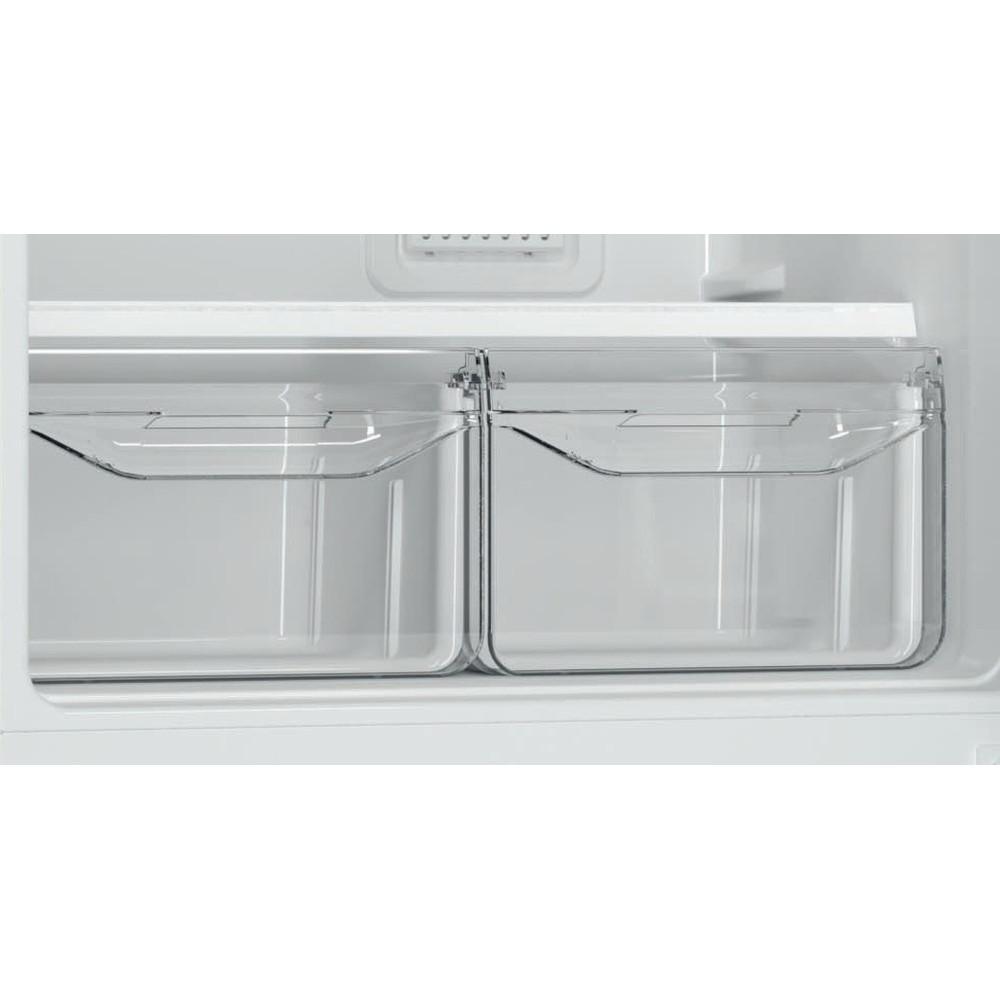 Indesit Холодильник с морозильной камерой Отдельностоящий DF 4180 E Розово-белый 2 doors Drawer