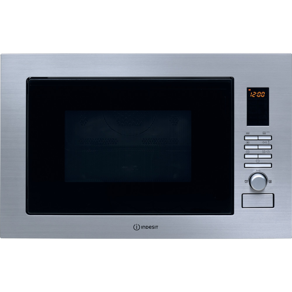 Indesit Microwave Built-in MWI 222.2 X UK Inox Electronic 25 MW-Combi 900 Frontal