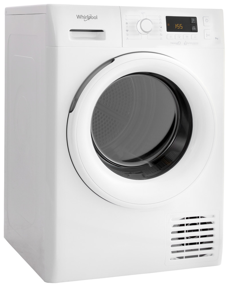 Whirlpool Dryr FT M11 82Y EU Alb Perspective