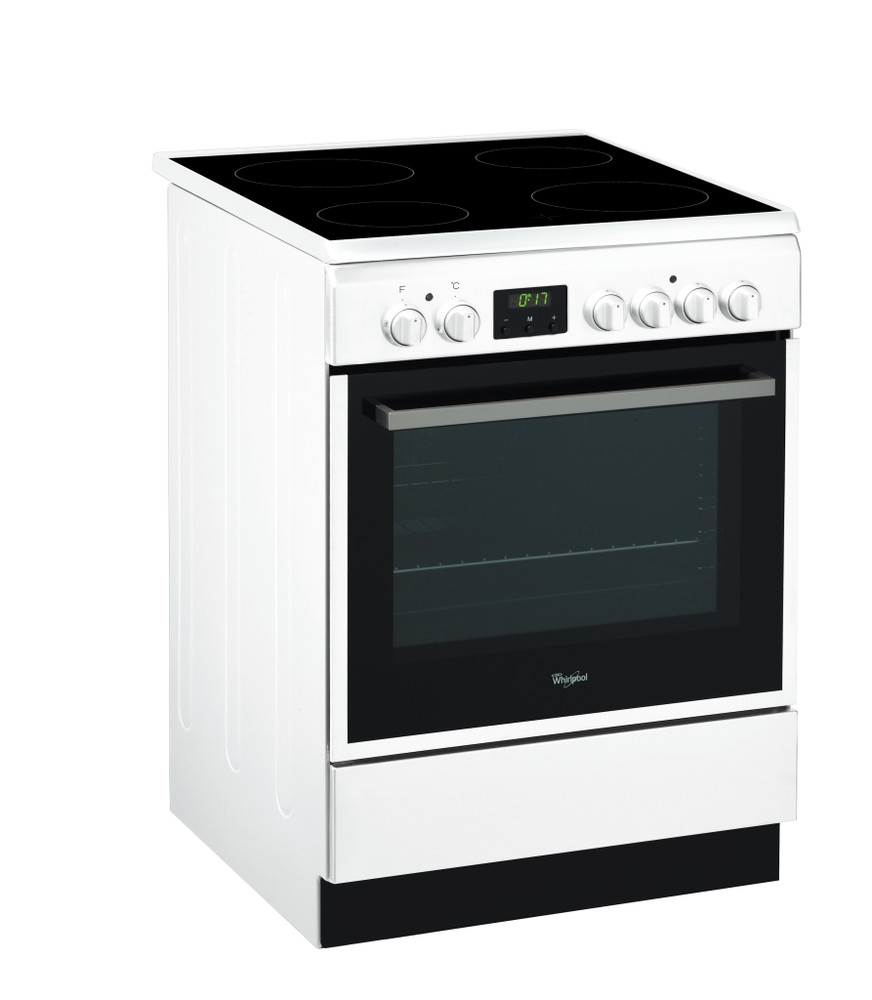 Whirlpool Viryklė ACMT 6533/WH Balta Electrical Perspective