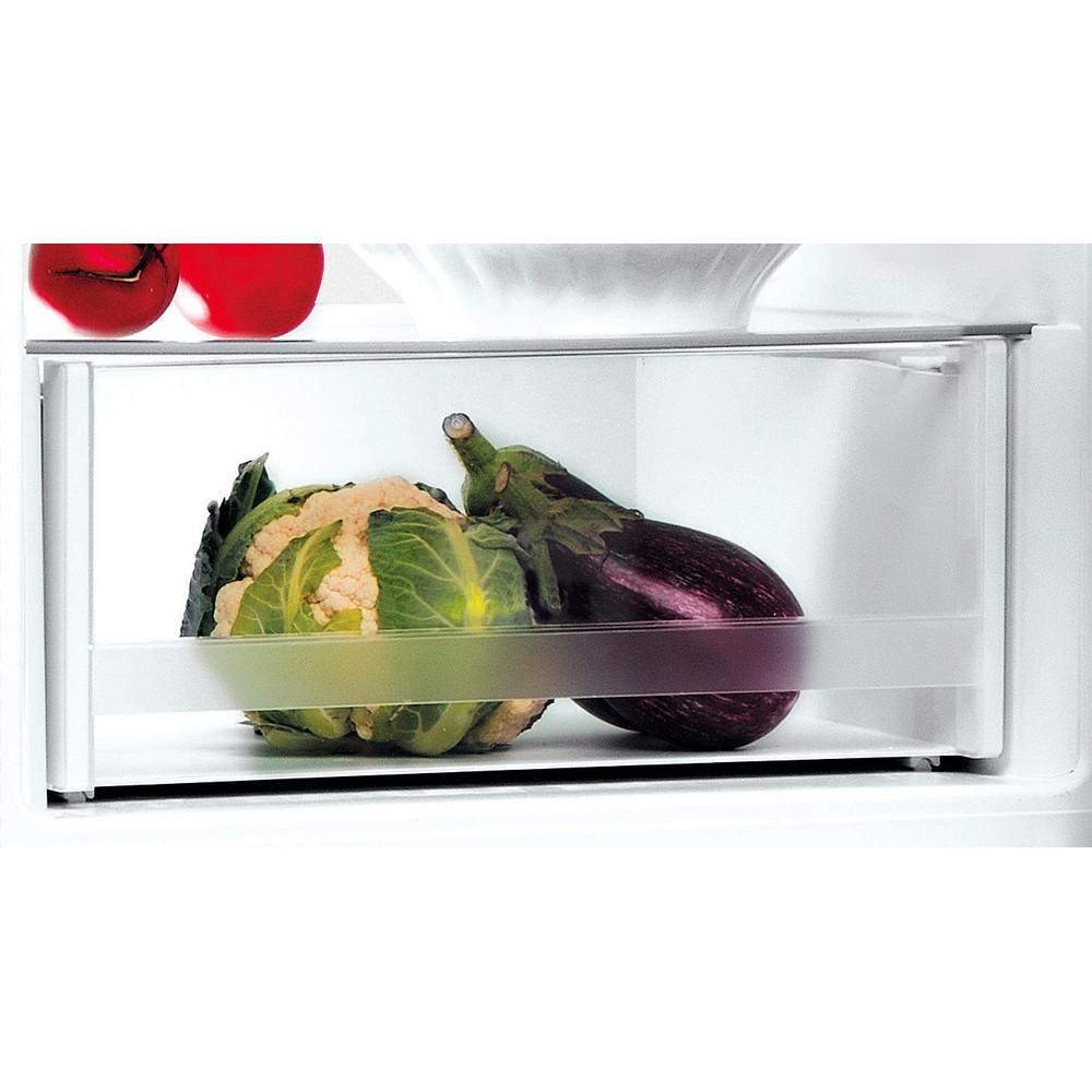 Indesit Kombinovaná chladnička s mrazničkou Volně stojící LR7 S2 X Nerez 2 doors Drawer