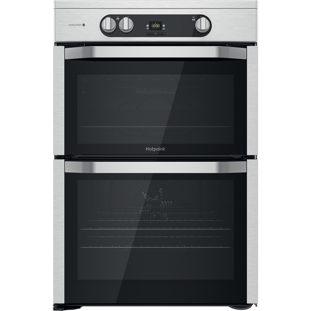 Hotpoint Double Cooker HDM67I9H2CX/UK Inox A Frontal