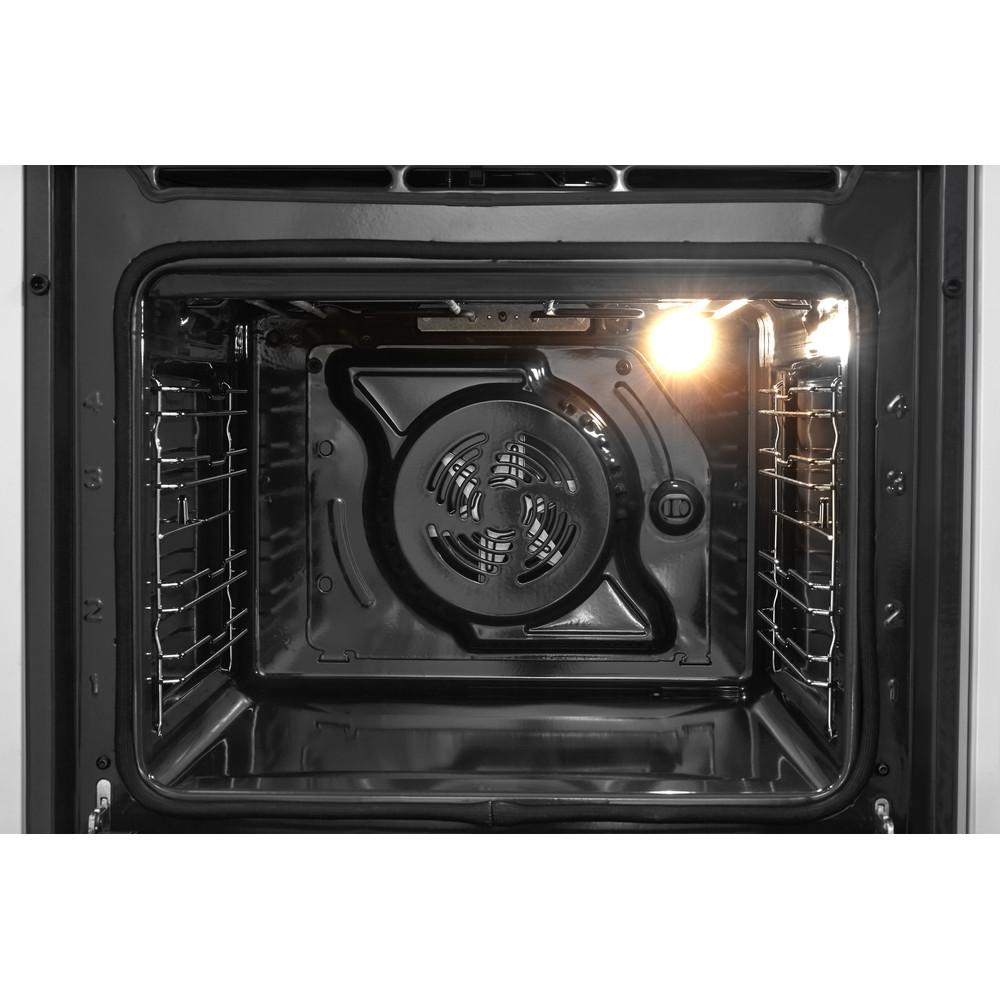 Horno eléctrico de encastre Whirlpool: color inox, auto limpieza - AKZ 481/IX
