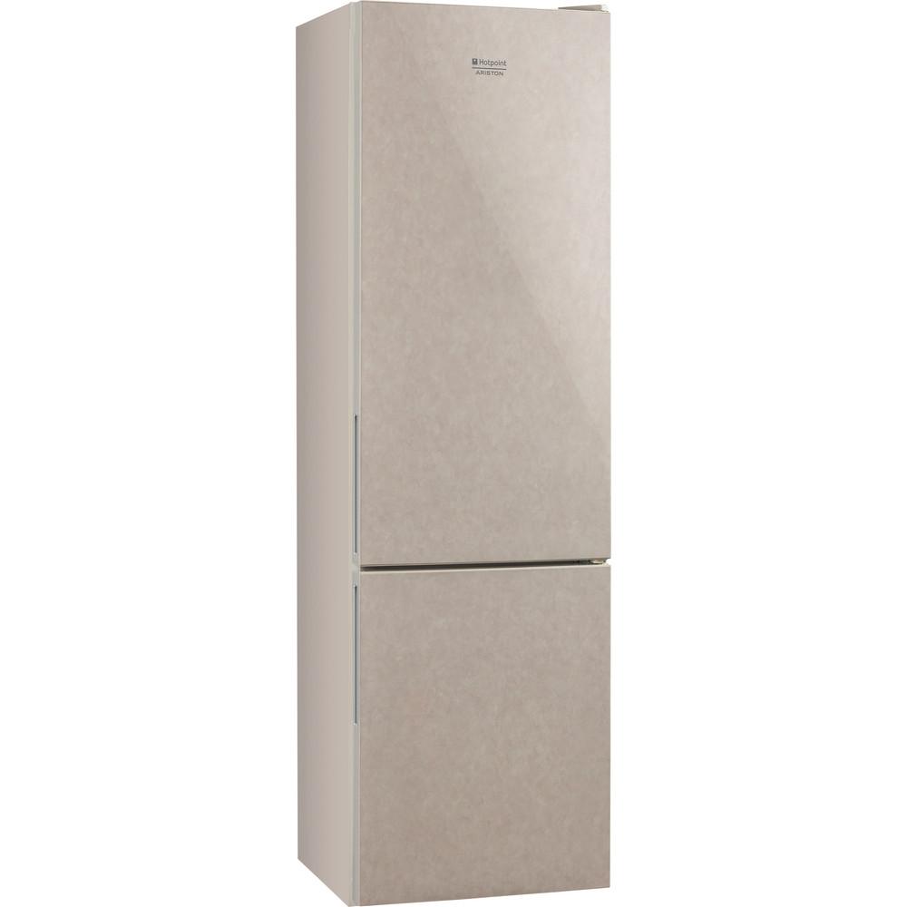 Hotpoint_Ariston Комбинированные холодильники Отдельностоящий HF 4200 M Мраморный 2 doors Perspective
