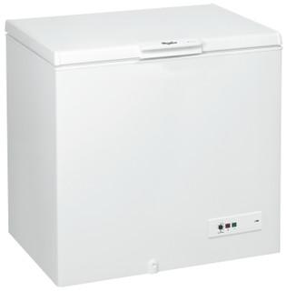 مجمد أفقي من ويرلبول : لون أبيض - CF340T