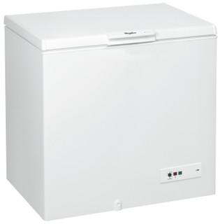 Whirlpool freestanding chest freezer: white color - CF340T