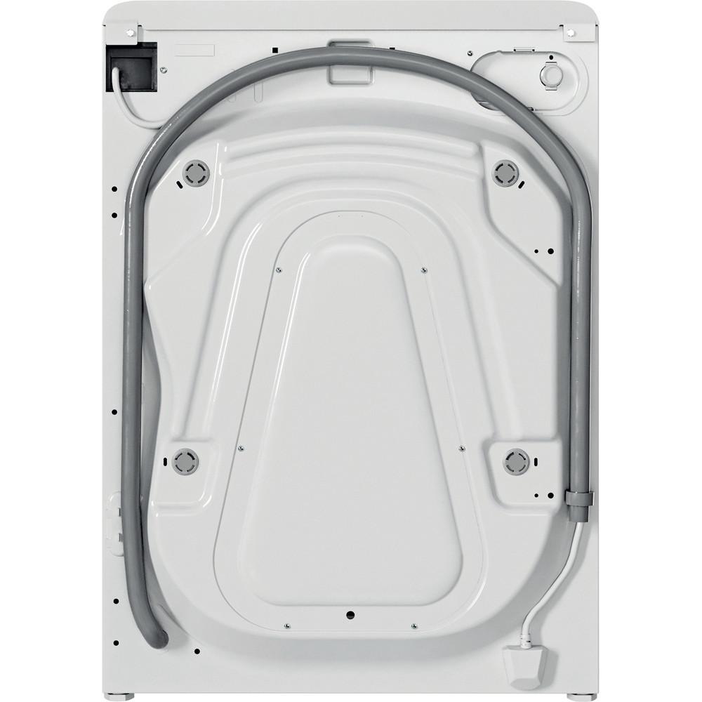 Indesit Washing machine Free-standing BWA 81484X W UK N White Front loader C Back / Lateral