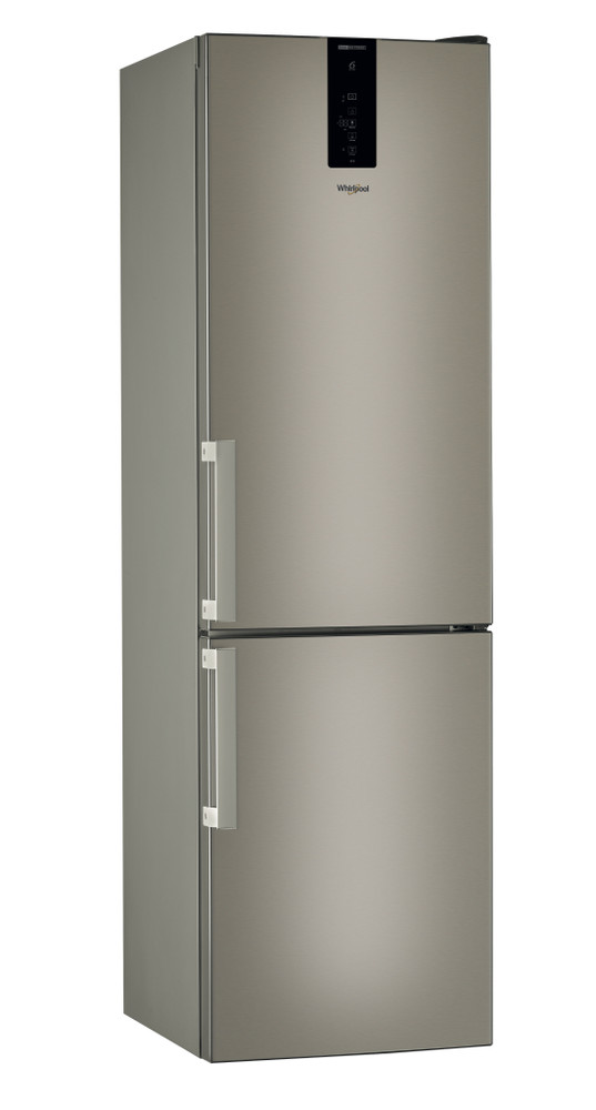 Whirlpool Fridge/freezer combination Samostojeća W9 931D B H Sunset Bronze 2 vrata Perspective