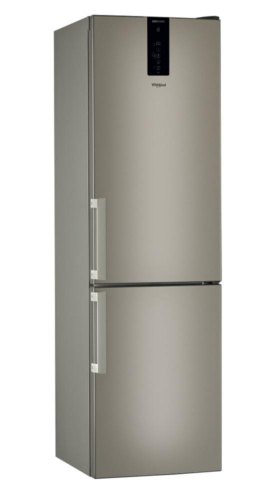 Whirlpool Hűtő/fagyasztó kombináció Szabadonálló W9 931D B H Sunset Bronze 2 doors Perspective
