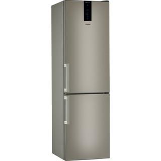 Whirlpool Kombinētais ledusskapis/saldētava Brīvi stāvošs W9 931D B H Sunset Bronze 2 doors Perspective