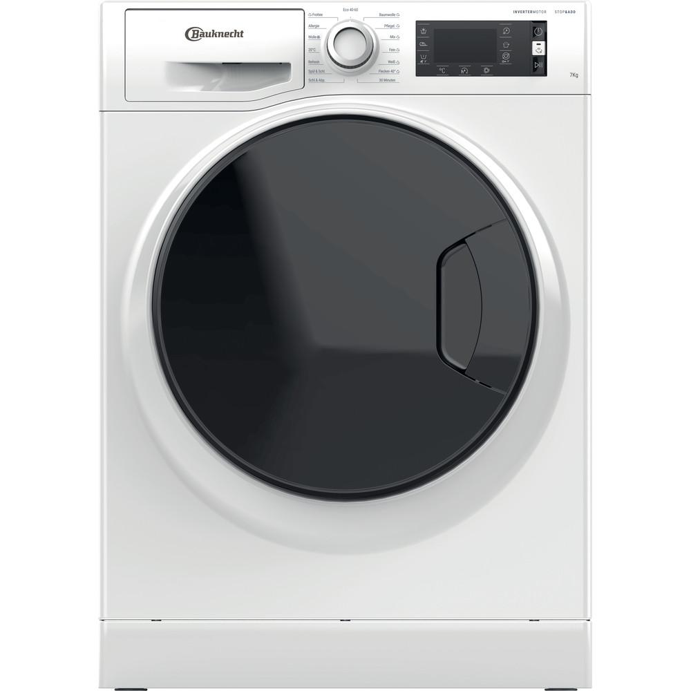 Bauknecht Waschmaschine Standgerät W Active 722 C Weiss Frontlader D Frontal