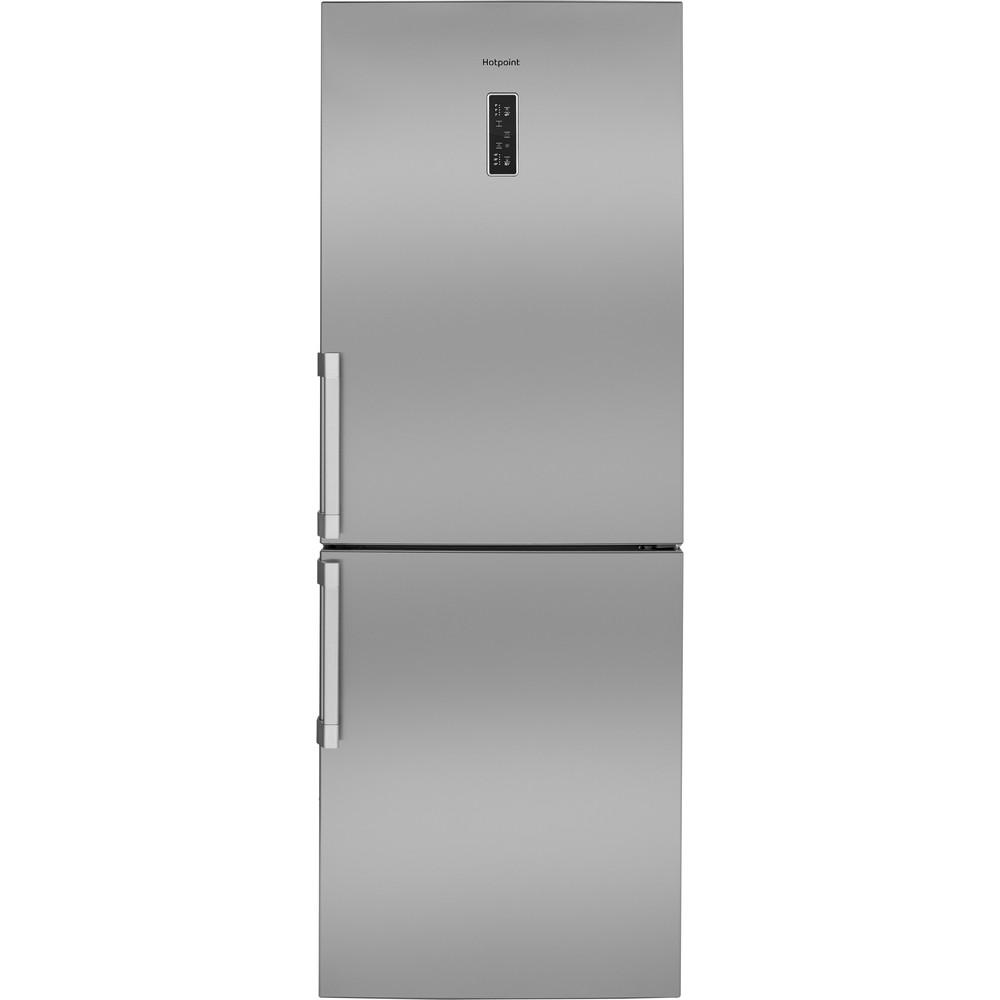 Hotpoint Fridge-Freezer Combination Free-standing NFFUD 191 X 1 Optic Inox 2 doors Frontal