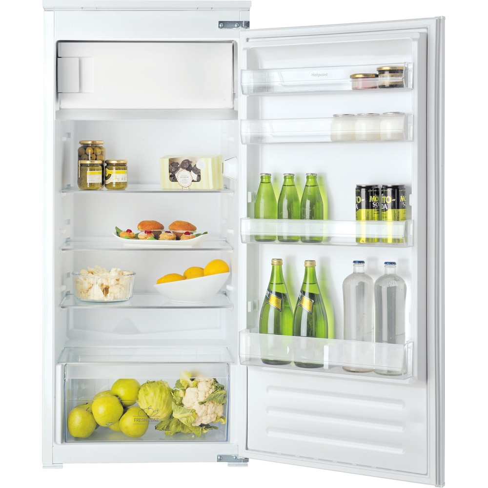 Hotpoint Refrigerator Built-in HSZ 12 A2D.UK Inox Frontal_Open