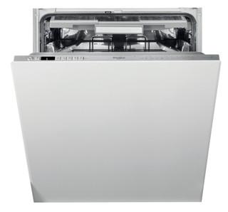 Kalusteisiin sijoitettava Whirlpool astiapesukone: Ruostumaton, Täysikokoinen - WIO 3O33 PLE
