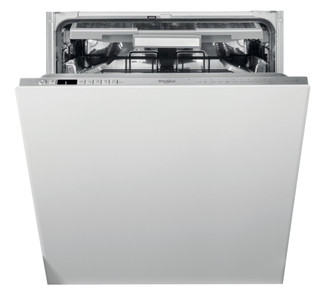Integreret Whirlpool-opvaskemaskine: inox-farve, fuld størrelse - WIO 3O33 PLE