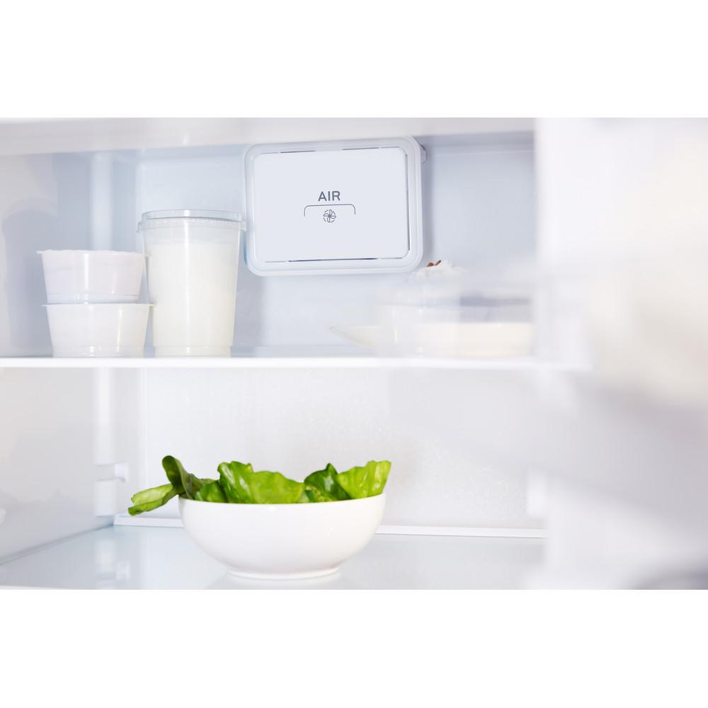 Indesit Combinación de frigorífico / congelador Libre instalación LR9 S2Q F X B Óptica Inox 2 doors Drawer
