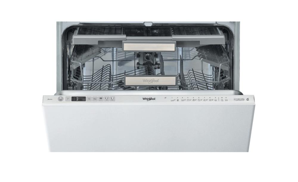 Whirlpool Astianpesukone Kalusteisiin sijoitettava WIO 3T133 DL E S Full-integrated A+++ Frontal