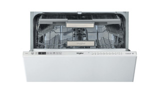Integreret Whirlpool-opvaskemaskine: inox-farve, fuld størrelse - WIO 3T133 DL E S