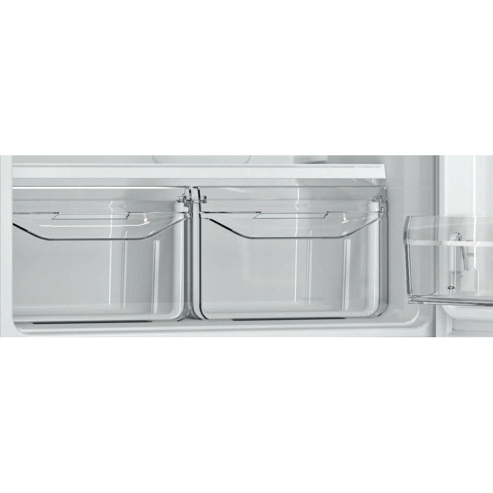 Indesit Холодильник с морозильной камерой Отдельностоящий DFN 20 D Белый 2 doors Drawer