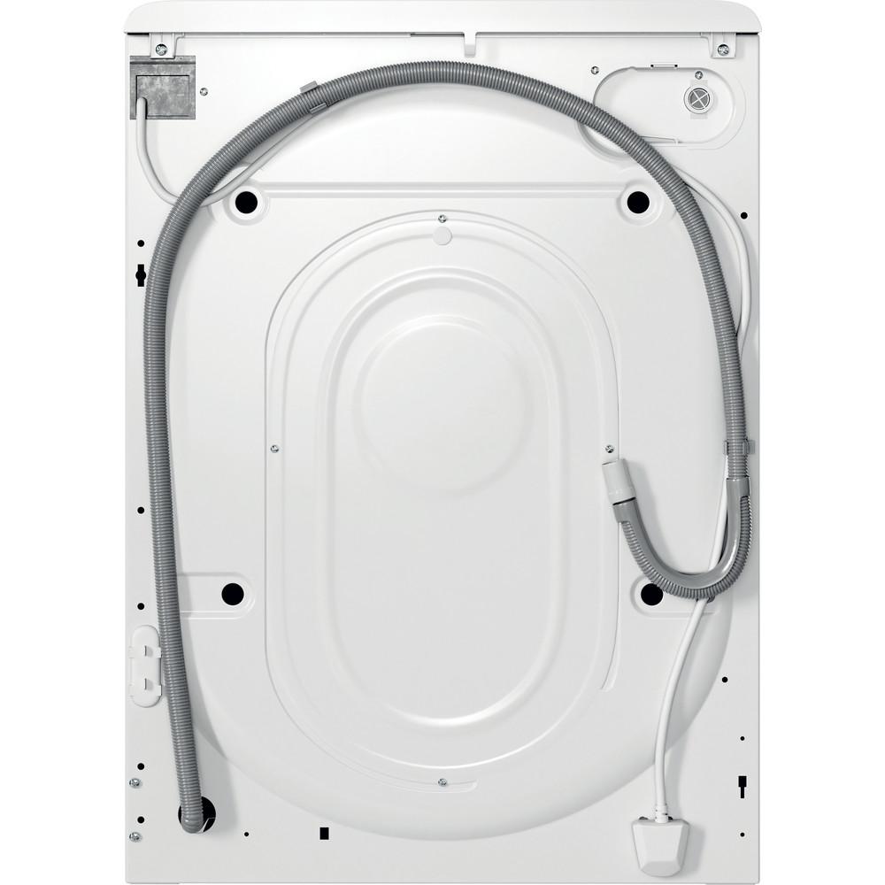 Indsit Maşină de spălat rufe Independent MTWSA 61252 W EE Alb Încărcare frontală F Back / Lateral